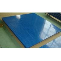 Industrial Floor Weighing Scale 2 Ton 4 Load Cells Construction Metal Conduit Cable Manufactures