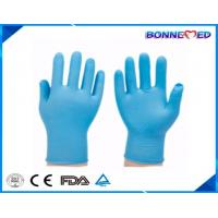 BM-6004 Cheap Disposable Blue Colored Powder Free Nitrile Exam Gloves Manufactures