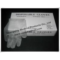 EN455 Latex Free Synthetic Vinyl Gloves ,  PVC Medical Surgical Gloves  Fits Either Hands Manufactures