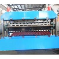 18 Forming Stations Roof Panel Roll Forming Machine PLC For IBR / Corrugated Sheets Manufactures