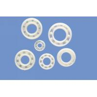 Anti Alkali / Anti Acid UPE Plastic Plain Bearings With Glass Stainless Or Ceramic Balls Manufactures
