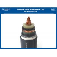 China IEC Standard 8.7 - 15KV Medium Voltage Underground Cable With Ink Printing Cable Mark on sale