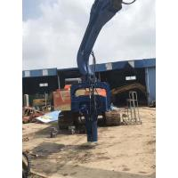Multipurpose Hydraulic Pile Driver , Hydraulic Hammer Piling Machine Manufactures