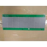 2 Layer Aluminum Pcb Assembly FR4 500MM Length*60MM Width Lattice led display on one side control Manufactures