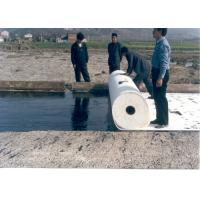 Quality Polyester Filament Woven Geotextile Fabric for  Reinforcement , Sub Surface Drainage for sale