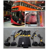 Rear View Monitor Bus Camera Surveillance Systems With Four Channel DVR and IR Manufactures