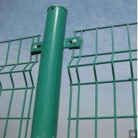 Triangle Heavy Gauge Wire Fence , Welded Wire Fence Panels Low Carbon Steel Manufactures