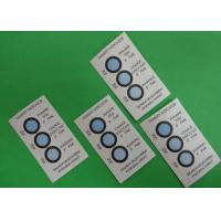 Reversible 3 Dots Humidity Indicating Cards Blotting Paper Ingredient For Bulk Packaging Manufactures