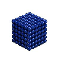 China Kellin Neodymium Magnetic Balls Blue Coated Colorful 5mm Magnetic Balls 216pcs Spheres on sale