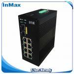 10 ports managed switch 10 /100/1000Mbps transmission rate 7+3G Gigabit Fiber