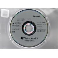 Genuine Microsoft Windows 7 Pro Pack OEM 64 Bit  Japanese Language Manufactures