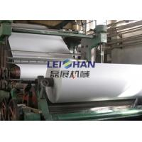 20 TPD Printing Paper Making Machine , Automatic Paper Processing Machine Manufactures