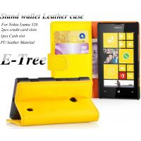Premium PU + PC Wallet Leather Nokia Mobile Phone Cases With Stand Manufactures