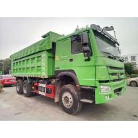 Green 10 Wheel RHD 20 Ton Dump Truck SINOTRUK Brand With German ZF8118 Steering Manufactures