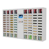 Bill / Card / Coin Operated Vending Machine , Custom Vending Machines For Book Manufactures