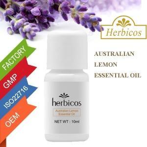 China Herbicos Australian Lemon Essential Oil For Skin Whitening 10ml on sale