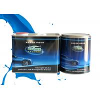 Mixed Blue Shining Silver Metallic Automotive Paint Heat Resistant Adjustable Size Manufactures