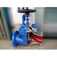 China German Standard Bellow Globe Valve DIN3356 Hard Faced Cast Stainless Steel DIN3202 on sale