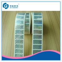 China Self Adhesive Hologram Label Sticker In Roll  ,   Custom Roll Hologram Stickers  on sale