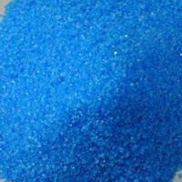 Copper Sulfate with Dark Blue Granular Crystal or Crystalline Powder, Toxic and Odorless Manufactures