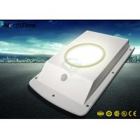 6W All In One Body Sensor LED Smart Solar Street Light With Lithium Battery Manufactures