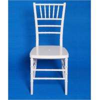 White Resin Chiavari Chair hot sale Romania and Russia Manufactures