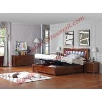 Luxcury Upholstery Headboard with Storage Bedstead Box in Solid Wood Furniture Manufactures