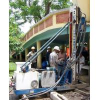 Quality Skid Mounted Portable Drilling Rigs , Jet Grouting Drilling Rig for sale