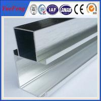 factory supply polishing of 6061 aluminum alloy aluminum t shape extrusion frame Manufactures