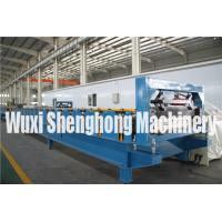 Trapezoidal Roof  Wall Panel Cold Roll Forming Machine PLC Controlling Manufactures