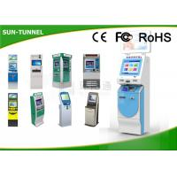 17 Inch IR Touch Screen Money Exchange Machine , Coin Acceptor Automatic Teller Machines Manufactures