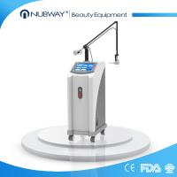 best selling Light spot 0.1mm USA fractional CO2 laser scar/ acne removal skin resurfacing machine Manufactures