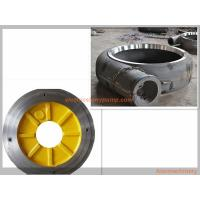 Anti Abrasion Electric Slurry Pump Spare Parts High Chrome Alloy / Rubber Material Manufactures