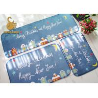 Customized Outdoor Floor Rugs Size Custom Easy For Cleaning With PVC Dotted Mat