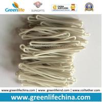Factory Supply Solid White Cheap Promotional PVC Luggage Hang Tag Leash Manufactures