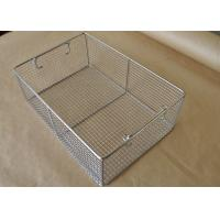 45*25*7cm Stainless Steel Sterilizing Basket Disinfection Baskets  For Scalpel Manufactures
