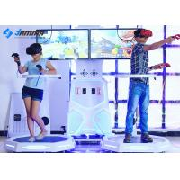 Interactive HTC Virtual Reality Simulator , Virtual Reality Shooting Game Machine Manufactures