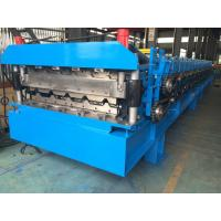 Roofing Profile Double Layer Roll Forming Machine Automatically 380V 50Hz 3 Phases Manufactures