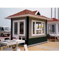 China Movable Pre Built Prefab Steel Houses , Fireproof Painting Steel Fabricated Homes on sale