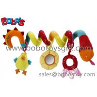 Colorful Plush Baby Bed Hanging Toys Plush Baby Stroller Toys Manufactures
