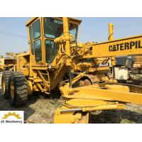 14G Model Used Motor Graders Caterpillar CAT 14 Grader With 50.6 Km/H Max Speed Manufactures
