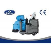 Dycon Piloting Ground Cleaner Floor Scrubber Dryer Machine For Hospital And Airport Manufactures