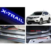 China NISSAN X-TRAIL 2014 2017 Tail Gate and Side Door Sill Steel Scuff Plates on sale
