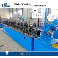 China Garage Steel Roller Forming Machine , High Capacity Door Frame Making Machine on sale