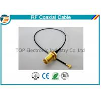 High Frequency RF Pigtail Coaxial Cabl For Jumper Antenna Assembly Manufactures