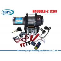 12V 24V Electric Winch 2000lbs - 20000lbs Rated Line Pull Patent Clutch Structure Winch Manufactures