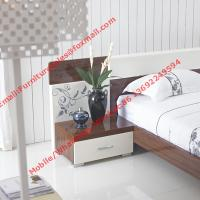 Dark oliver and white glossy painting Apartment bedroom furniture Manufactures