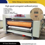 Easy Operating Flexographic Printing Machine , Pizza Box Printing Machine Manufactures