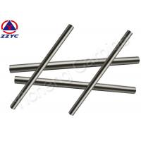 China Custom Tungsten Round Bar , 6 / 10 / 12 MM Tungsten Metal Rod For Bushing Bearings on sale