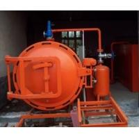 DN1600 x 8000mm autoclave wood vacuum steeping tank use in wood preservation Manufactures